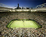 Rod Laver Arena is the main court of the Australian Open.