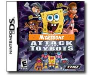 Help SpongeBob SquarePants, Danny Phantom and more cool Nicktoons characters save the world from an army of evil toybots! Here's our game review.