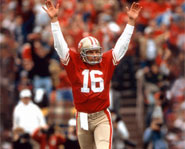 Former San Francisco 49er, Joe Montana, is arguably the best quarterback of all time.