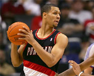 Brandon Roy of the Portland Trailblazers is one of the best young players in the NBA.