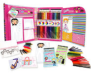 Design your own fashion line with the Fashion Design Studio Set.