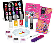 Decorate everything from your nails to your iPod with the Nail & Decorative Artist Kit!
