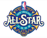 The 2008 NBA All Star Weekend takes place February 14-17 in New Orleans.