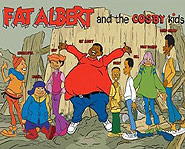 Fat Albert was the first cartoon with an all-black cast.