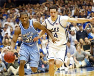 The Duke/North Carolina rivalry is the biggest rivalry in college basketball.