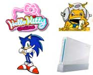 We have the 411 on winning a Wii, Sonic on DS, Spiderwick and Hello Kitty's online adventures. Get the game news here!