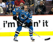 Joe Thornton of the San Jose Sharks is one of the best players in the NHL.