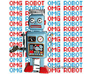 OMG Robot is one of the layouts created by WhateverLife.com.