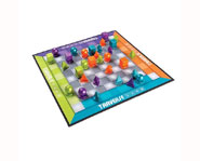 Traverse is a board game that combines checkers with chess!