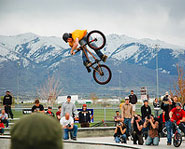Mike Aitken is one of the best BMX riders in the world.