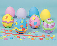 Make some crafty eggs this Easter.
