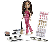 The Bratz Magic Fashion Nails lets you paint, draw, gem and stamp your nails!