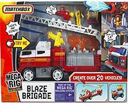 Matchbox and Mattel present the Mega Rig Blaze Brigade.