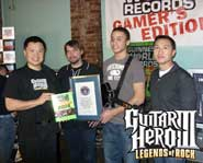 Through the fire and the flames, he carried on. Catch Gary's interview with 16 year-old Guitar Hero world champion Chris Chike!