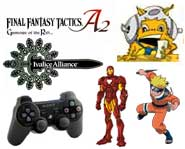 We have news about Iron Man, the PS3, Final Fantasy, Sonic the hedgehog, a Naruto ninja art contest and how to get a free Wii!
