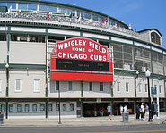 Wrigley Field was built in 1914.