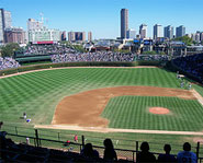 Wrigley Field is the second-oldest stadium in the MLB.