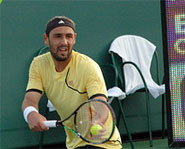 Cyprus born Marcos Baghdatis is a rising star in tennis.