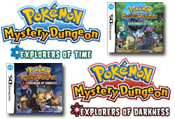 We have video previews of the new Pokemon games for DS that let you become a Pokemon and enter a huge world of adventure!
