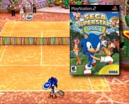 Rock the courts with Sega's classic gaming characters and dozens of minigames in this new sports game. Get the final score with our game review.