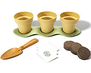 The Indoor Gardening Kit is made of recycled plastic and other environmentally-friendly materials!