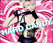 Madonna's brand new album is called Hard Candy and features Justin Timberlake.