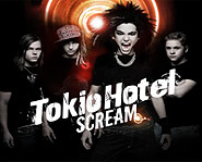 Tokio Hotel hits with Scream, their first english album, available May 6th.
