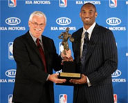 This week, Kobe Bryant was named the 2008 NBA MVP.