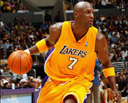 Lamar Odom of the Los Angeles Lakers is one of the most versatile players in the NBA.