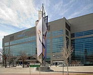 Energy Solutions Arena is home of the Utah Jazz.