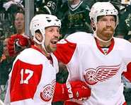 The Detroit Red Wings face off against the Pittsburgh Penguins in the Stanley Cup Finals.