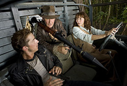 Indiana Jones is back in Indiana Jones and the Kingdom of the Crystal Skull.