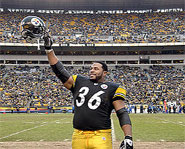 Former NFL star Jerome Bettis has battled asthma since he was 15.