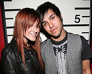 Ashlee and Pete Wentz got married this month.