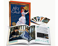 Learn about great works of art while playing cards!