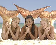 Claire Holt, Phoebe Tonkin and Cariba Heine star in Nickelodeon's H2O.