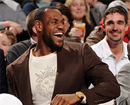 LeBron James signed a $90 million deal with Nike in 2003.