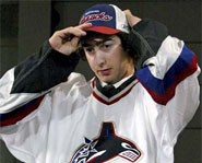 Luc Bourdon of the Vancouver Canucks was tragically killed in a motorcycle accident on May 29, 2008.