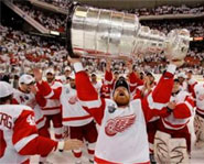 The Detroit Red Wings won their fourth Stanley Cup in 11 years on Wednesday night.