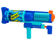 The Super Soaker Quick Blast can shoot up to 25 feet!