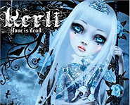 Kerli's debut album is called Love is Dead.
