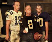 Archie Manning passed off his good genes over to his superstar sons Eli and Peyton.