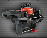 Check out the Spy Gear Spy Disc Shooter.