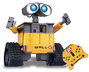 Send orders to Wall●E via a wireless remote control and he'll carry out your command!