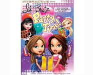 Lil' Bratz Party Time hits shelves July 15, 2008.