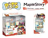 Unleash the cute and cuddly P3TS cards to help kick butt in the MapleStory iTCG. Here's Gary's card game review.