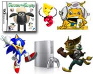 Get the news on the PS3 price drop, the games of E3, Shaun the Sheep, Sonic and downloading Ratchet & Clank!