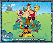 Find Dave the Barbarian on Disney Chanel or toon Disney.