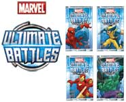 Battle with teams of comic book superheroes and supervillains in the Marvel Ultimate Battles card game! Here's our card game review.