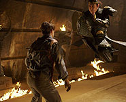 Brendan Fraser and Jet Li star in Mummy :: The Tomb of the Dragon Emperor.